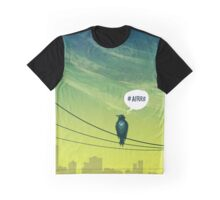 Bird on Wire Graphic T-Shirt