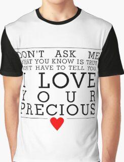 Never tear us apart Graphic T-Shirt