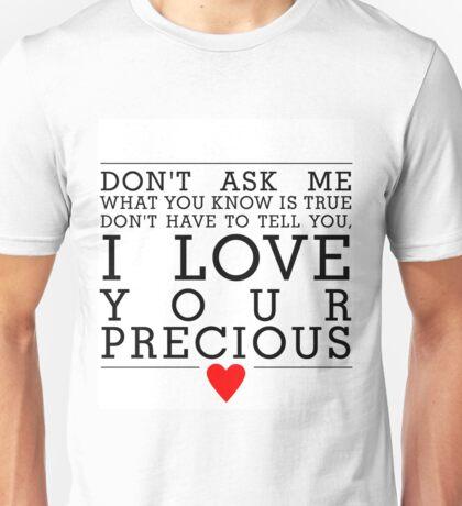 Never tear us apart Unisex T-Shirt