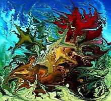 modern composition 30 by rafi talby by RAFI TALBY