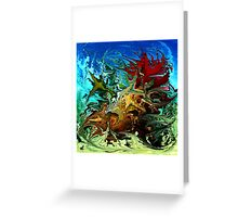 modern composition 30 by rafi talby Greeting Card