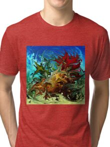 modern composition 30 by rafi talby Tri-blend T-Shirt