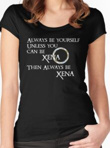 Be Xena Women's Fitted Scoop T-Shirt