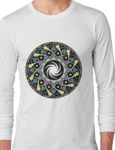 Galactic Federation Of Light Mandala T-Shirt Long Sleeve T-Shirt