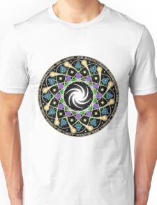 Galactic Federation Of Light Mandala T-Shirt Unisex T-Shirt