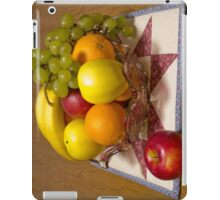 Bowl Of Fresh Fruit iPad Case/Skin