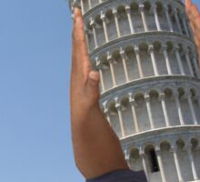 Cory In The Pisa Sticker