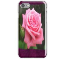 Pink Roses in Anzures 4 Blank P8F0 iPhone Case/Skin