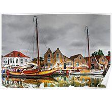 English Quay, Zierikzee Poster