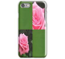 Pink Roses in Anzures 4 Blank Q5F0 iPhone Case/Skin