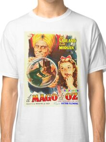 Italian poster of The Wizard of Oz Classic T-Shirt