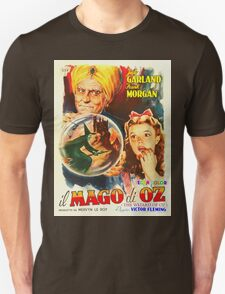 Italian poster of The Wizard of Oz Unisex T-Shirt
