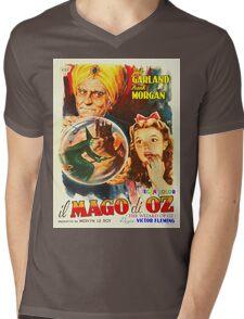 Italian poster of The Wizard of Oz Mens V-Neck T-Shirt