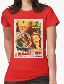 Italian poster of The Wizard of Oz Womens Fitted T-Shirt