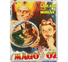 Italian poster of The Wizard of Oz iPad Case/Skin