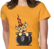 Yorkie Something Brewing Womens Fitted T-Shirt