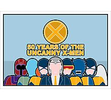 Uncanny X-Men 50th Anniversary - Full Cast Photographic Print