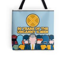 Uncanny X-Men 50th Anniversary - Full Cast Tote Bag