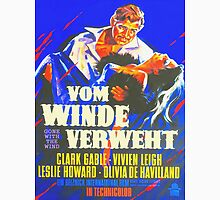 German poster of Gone with the Wind Unisex T-Shirt