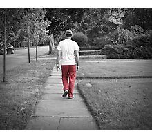 Red G Photographic Print