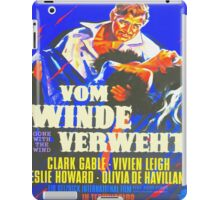 German poster of Gone with the Wind iPad Case/Skin