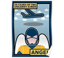 Uncanny X-Men 50th Anniversary - Angel Poster