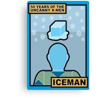 Uncanny X-Men 50th Anniversary - Iceman Canvas Print