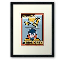 Uncanny X-Men 50th Anniversary - Jean Grey Framed Print