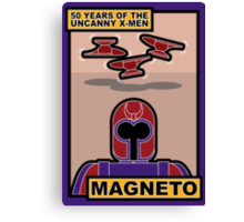 Uncanny X-Men 50th Anniversary - Magneto Canvas Print