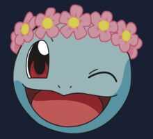 Squirtle Flower Crown by hunnydoll
