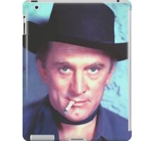 Kirk Douglas in Man Without a Star iPad Case/Skin