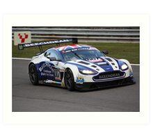 Beechdean Aston Martin Vantage Art Print