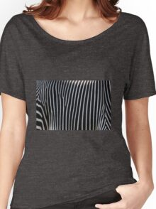 Zebra Stripe Women's Relaxed Fit T-Shirt
