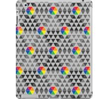 Geometric Color Wheel iPad Case/Skin