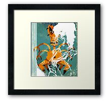 Deak SMACKED Framed Print