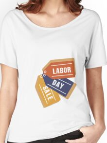 Labor Day Tags Women's Relaxed Fit T-Shirt