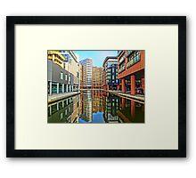 Paddington Basin, London. Framed Print