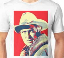 James Stewart in The Far Country Unisex T-Shirt