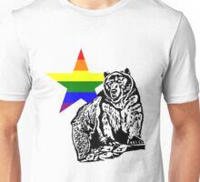 Kris Alan Apparel RAINBOW Grizzly Bear  Unisex T-Shirt