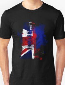 Phone Box Grunge T Unisex T-Shirt