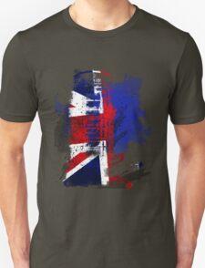 Phone Box Grunge T T-Shirt
