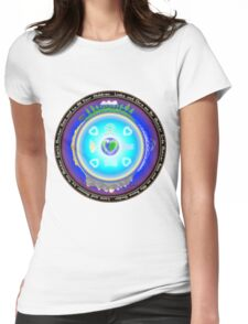 Mother Earth Gaia Mandala T-Shirt Womens Fitted T-Shirt