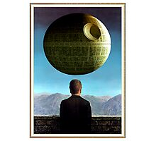 Death Star Magritte Photographic Print