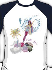 Mermaid Barbie - F*CK OFF T-Shirt