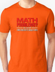 Math Problem? help is here Unisex T-Shirt