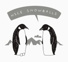 Penguin Snowballs by anhnv149