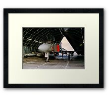 Phantom FGR.2 XV464/U in a Rubb Hangar Framed Print