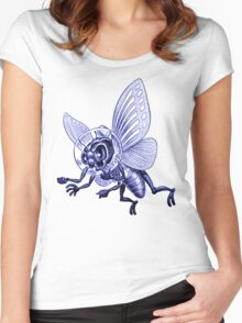 Bug Eyed Monster from Outer Space Women's Fitted Scoop T-Shirt