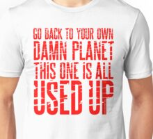 Message TO Space Unisex T-Shirt