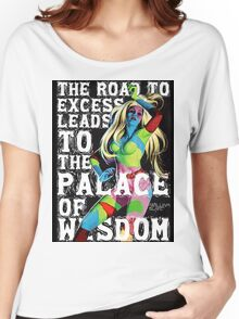 The Road to Excess Women's Relaxed Fit T-Shirt